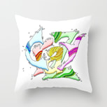 Crazy Pillow Cover