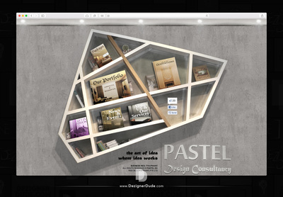 Pastel Website Design