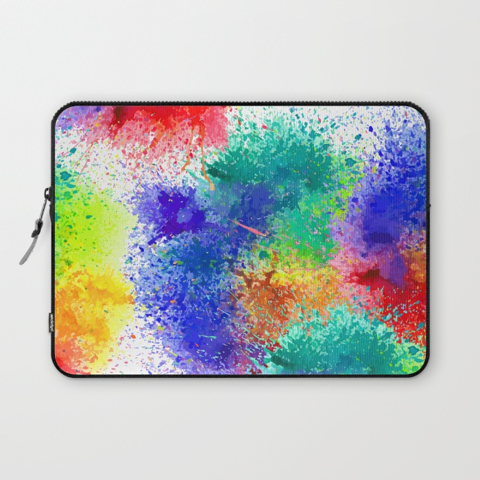 Holi Laptop Sleeve Closed