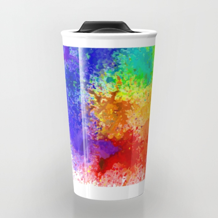 Holi Travel Mugs