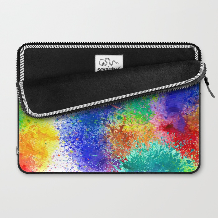 Holi Laptop Sleeve Opened