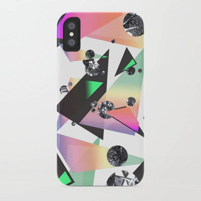 Multicolor Orgasm iPhone Case by DezignerDude