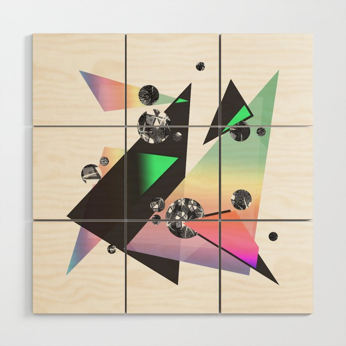 Multicolor Orgasm Wood Wall Art by DezignerDude