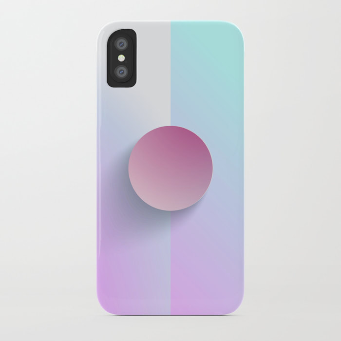 Brilliant Lavender Celeste iPhone Case by Dezigner Dude