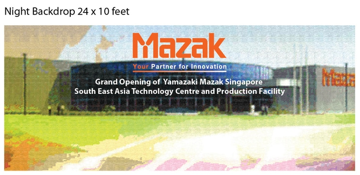 Mazak Stage Re-Design