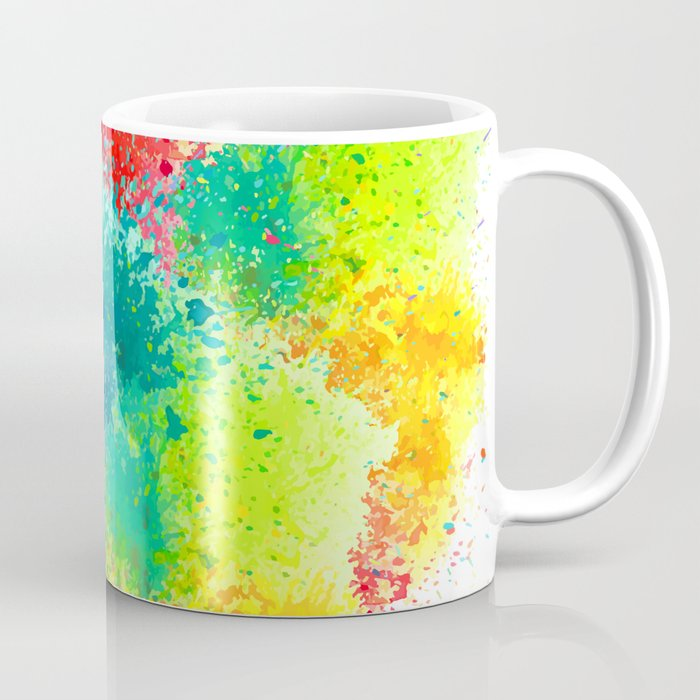 Coffee Mug for the love of Holi colours festival