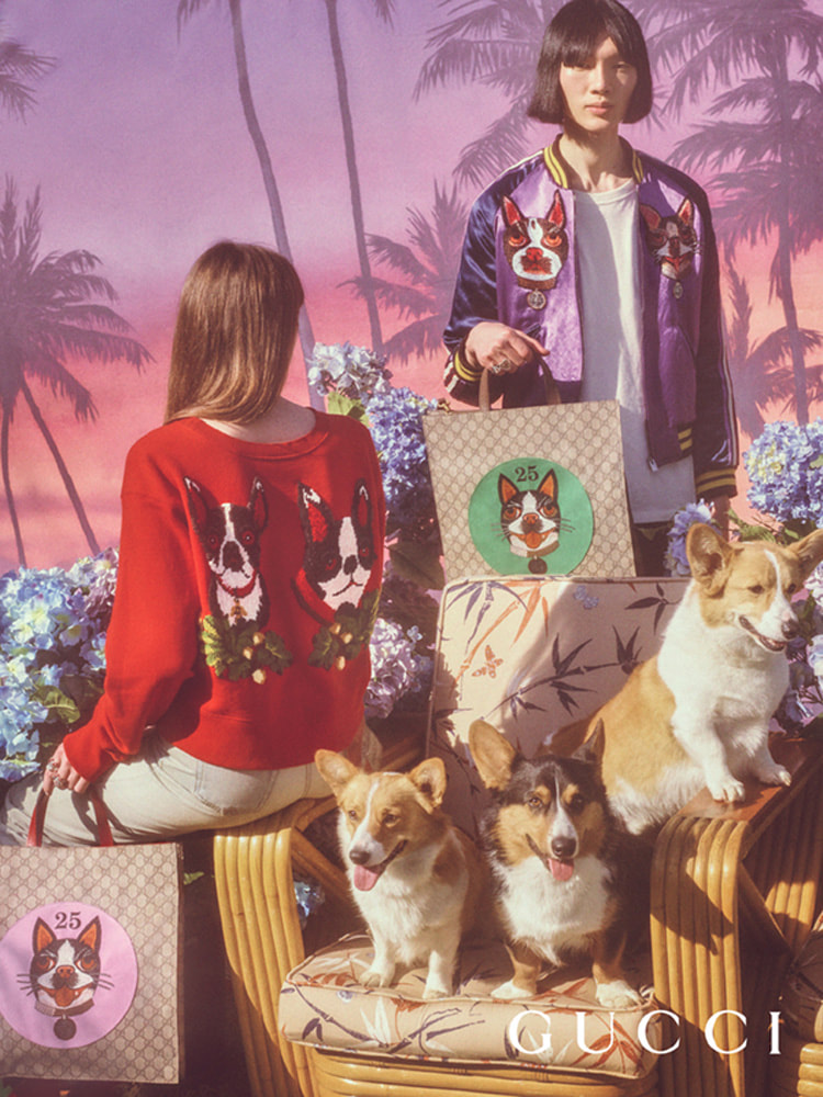 Gucci Chinese New Year Campaign