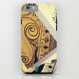 Traditional Art iPhone Case by DezignerDude
