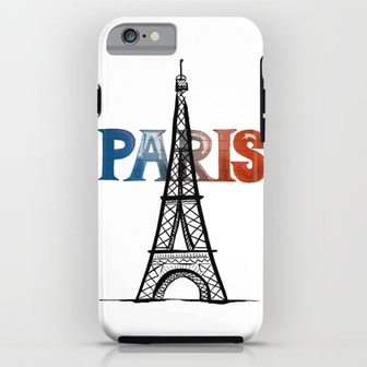 Paris iPhone Case by DezignerDude