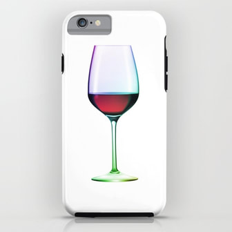 Wine iPhone Case by DezignerDude