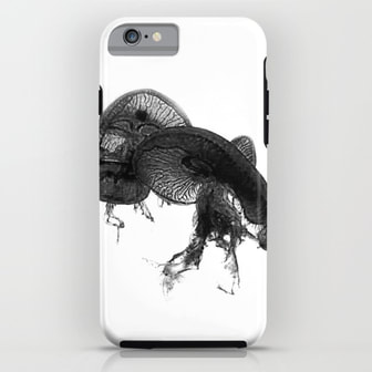 Black Jelly iPhone Case by DezignerDude