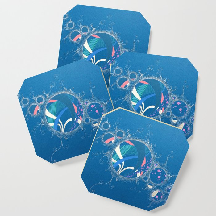 SuperNova In Bubbles Coaster