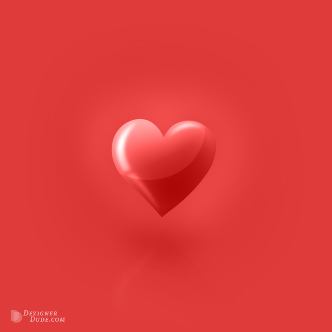 Valentines Day Love Heart (Graphic Design) by DezignerDude